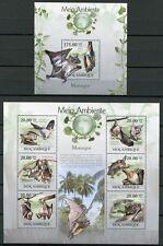 Mosambik Mocambique 2010 Fledermäuse Umweltschutz Bats MNH