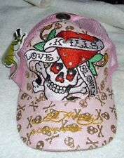 PINK Ed Hardy Christian Audigier Love Kills Slowly Baseball Style Cap Hat NWT