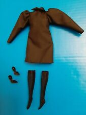 Barbie Silkstone Best in Black Complete Doll Outfit Dress Stockings Shoes - Mint