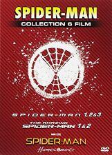 SPIDER-MAN COLLECTION  6 DVD  COFANETTO  FANTASTICO