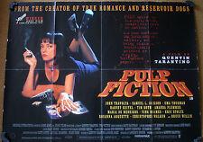 Pulp Fiction Original UK Quad Film Posters (1990s)