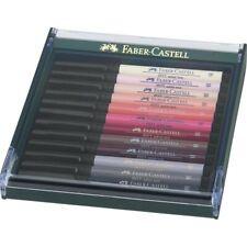 Faber-Castell PITT Artist Pen brush 12er Etui Hauttöne
