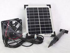 5 W wasserfester Solarlüfter Solarventilator Solar Belüftungssystem Gewächshaus