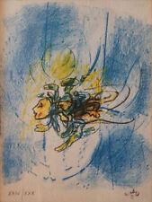 Roberto Sebastian Matta - Litografia originale su carta firmata a matita