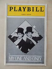 April 1986 - Forrest Theatre Playbill - My One And Only - Lucie Arnaz - Tune