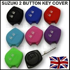 Key Cover For Suzuki 2 Button Case Remote Fob Protector Shell Bag Silicone Car 3