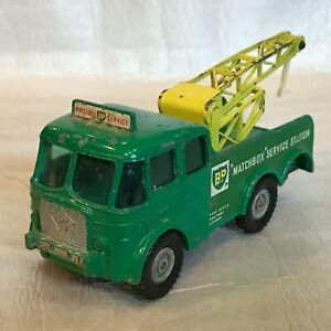 Matchbox King Size No 12 Foden Breakdown Tractor Lesney England Missing parts
