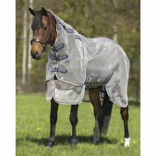 """Scrim Sheet White and Grey  82/"""" New Grand Entry  Horse Fly Sheet"""
