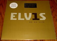 ELVIS 30 #1HITS ORIGINAL DOUBLE LP STILL IN SHRINK WRAP WITH 2 HYPE STICKERS