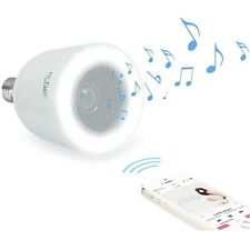HI-FUN - HI-LED LAMPADINA SPEAKER BLUETOOTH BIANCA - BLISTER
