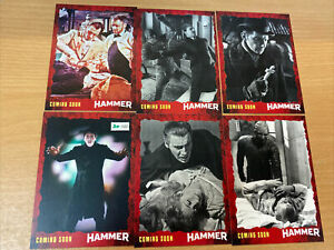 Unstoppable Cards Hammer Horror Preview Promo Card Set 30/100