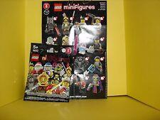 LEGO 8833 MINIFIGURINE N°15 CAPITAINE CROCHET PIRATE NEUF jamais ouvert SERIE 8