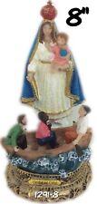 "Nuestra señora la Caridad del Cobre/ Our Lady of Charity 8""Statue 1291-8 Cuba"