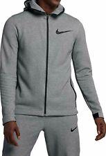 Nike Showtime Full Zip Hoodie Mens 925612-032 Dark Grey Dri-Fit Jacket SZ XL NWT