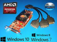 Dell Optiplex SFF 390 790 990 7010 7020 9010 Triple 3-Monitor DVI Video Card