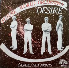 """7"""" 1981 RARE IN MINT-! FUTURE WORLD ORCHESTRA :  Desire"""