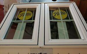 Pella 350 Series Double Casement Window 38-in x 28-in