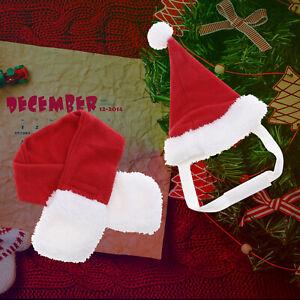 Pet Christmas Puppy Dog Bulldog Xmas Clothes Santa Claus Hoodies Costume Cat