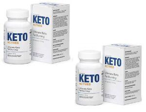 2 x Keto Actives 120 capsule Originale direttamente dal produttore oryginal BOX