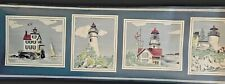 4 Rolls Wallpapers To Go Border GM80265B Lighthouses Sailing Boats Sea Ships NI