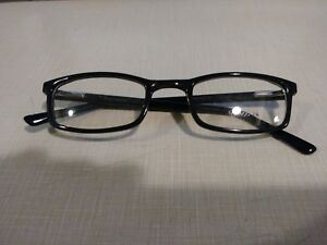 ROCHESTER R-5A CELLULOSE ACETATE BLACK FRAMES SIZE 52 / 24 / 150MM EYEGLASSES MD