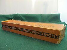 RARE Lionel prewar  550 Miniature Railroad Figure original box only