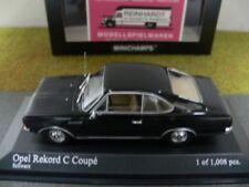1/43 Minichamps Opel Rekord C Coupe 1966 schwarz 430 046180