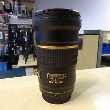 Used Pentax DA* 200mm f2.8 ED (IF) SDM Lens - 1 YEAR GTEE