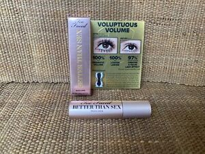 New and Boxed Too Faced Better Then Sex Mascara Sample Travel Handbag Size 3.9g