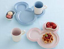 Le Creuset Tableware Set Mickey Mouse 2020 Disney Mini Dish, Plate, Mug
