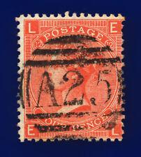 1865 Sg95 4d Deep Vermilion Plate 12 J59 Misperf Malta A25 Gu Cat £90 cjob