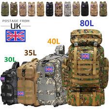 30L/35L/40L/70L/80L Military Tactical Rucksack Backpack Camping Hiking Trekk Bag