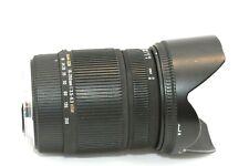 Canon Fit Sigma DC OS AF 18-250mm HSM AF Stabalized IF Modelo stabalised