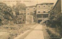 Big Tree Inn Geneseo New York Livingston County RPPC Balding Postcard 20-11781
