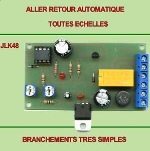 ALLER  RETOUR  AUTOMATIQUE  compatible Jouef,Hornby,Roco,Piko,Lima,LGB,etc..