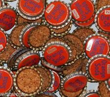 Soda Pop Bottle Caps Lot Of 25 PATIO ORANGE Pepsi Cola Cork Lined New Old  Stock