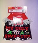 HOLIDAY TIME * UGLY SWEATER BLACK * MY UGLY XMAS  * NEW *