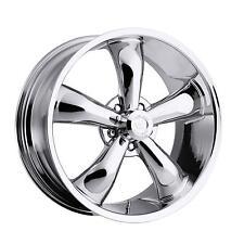 "18"" Vision 142 Legend 5 Chrome Wheel 18x8.5 5x4.5 -6mm Ford Mustang Dodge 5 Lug"
