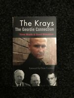 The Krays The Geordie Connection Signed Book