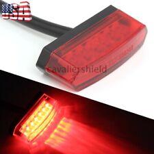 Motorcycle 6 Led Mini Red Tail Light Rear Running Stop Brake Bright Lamp 12v Us