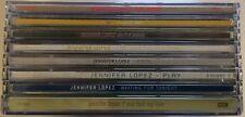 JENNIFER LOPEZ JLO RARE 8x CD SINGLE LOT EU (1999- 2005) Play Era -Janet Jackson