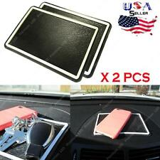 (2x) 17 x 12cm Anti-Slip Car Dashboard Sticky Pad Non-Slip Mat GPS Phone Holder