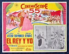 THE KING AND I Yul Brynner DEBORAH KERR RITA MORENO N MINT LOBBY CARD 1956