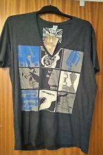 "Men's Tipster music & guitar themed T-shirt - size XXL (50""), NEW"
