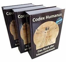 Codex Humanus 3 Bände Das Buch der Menschlichkeit Alle wichtigen Naturheilmittel