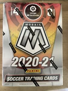 2020-21 LaLiga Mosaic Soccer Blaster Box Factory Sealed Brand New Product 🔥