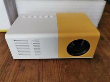 Mini HD Movie Projector - 1080P, UK Plug - HDMI, USB