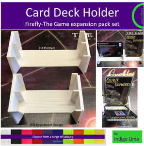 Firefly The Game set of interlocking card deck holders for expansion packs
