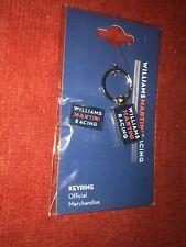 Keyring  And Badge Williams Formula 1 Car Official Merchandise Martini Racing