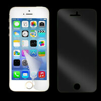 12pcs= 6x (Front Back) HD Clear Screen Protector Cover Film for iPhone 5S 5C 5